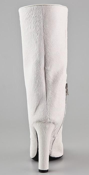 Alexander Wang Edythe Haircalf High Heel Boots