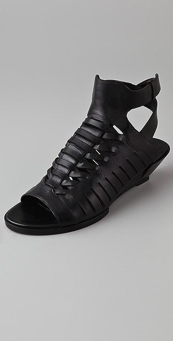 Alexander Wang Nika Demi Wedge Sandals