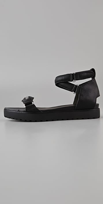 Alexander Wang Raquel Ankle Wrap Sandals