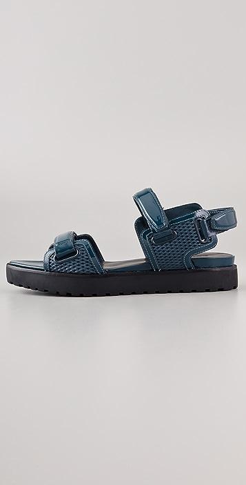 Alexander Wang Karlie Flat Sandals