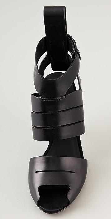 Alexander Wang Nadia Peep Toe Sandals