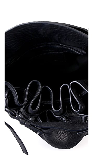 Alexander Wang Diego Bucket Bag with Black Hardware
