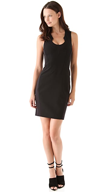 Alexander Wang Seamed Paneled Dress