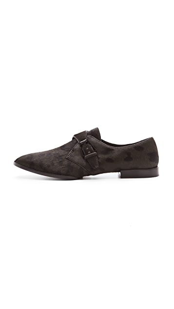 Alexander Wang Ruby Haircalf Oxfords