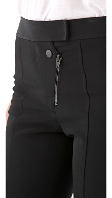 Alexander Wang Double Fly Skinny Pants