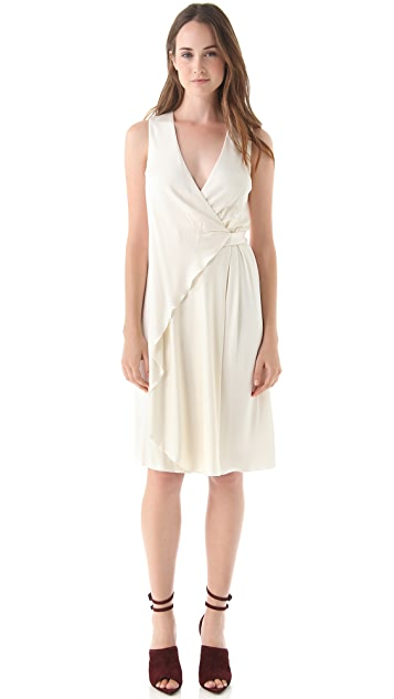 Alexander Wang Sleeveless Wrap Dress