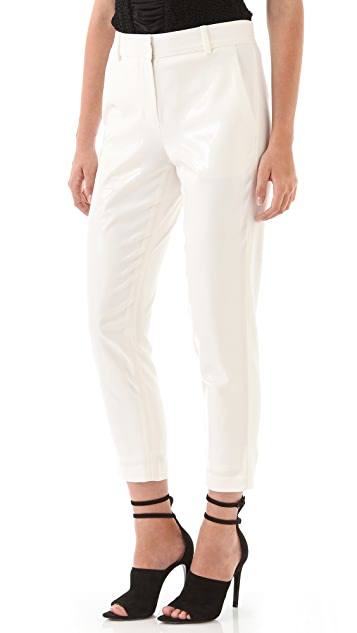 Alexander Wang Laminate Front Pants
