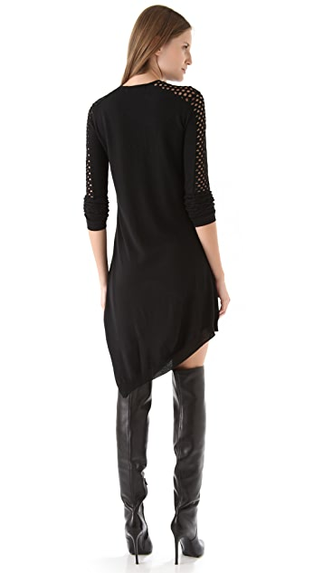 Alexander Wang Magnified Fishnet Dress