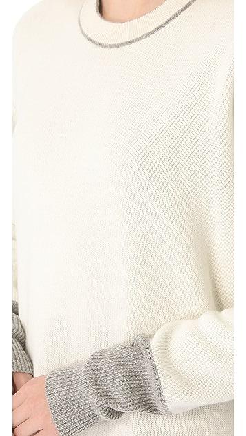 Alexander Wang Reversible Long Pullover
