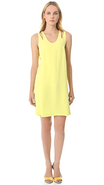 Alexander Wang Racer Back Relax Fit Dress