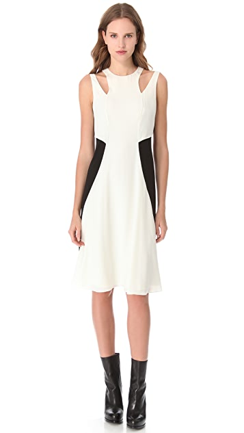 Alexander Wang Colorblock Tank Dress