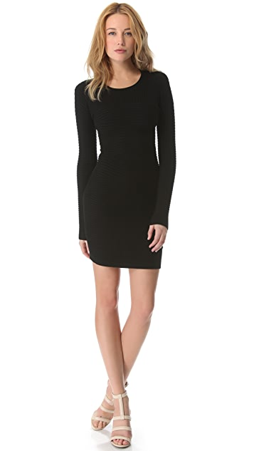 Alexander Wang Bandaged Rib Dress