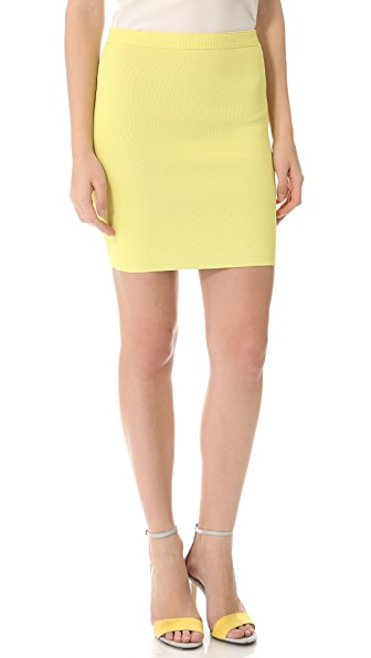 Alexander Wang Double Face Pencil Skirt