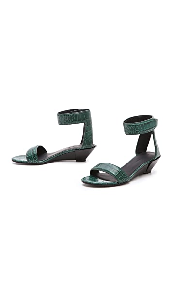 Alexander Wang Vika Demi Wedge Sandals