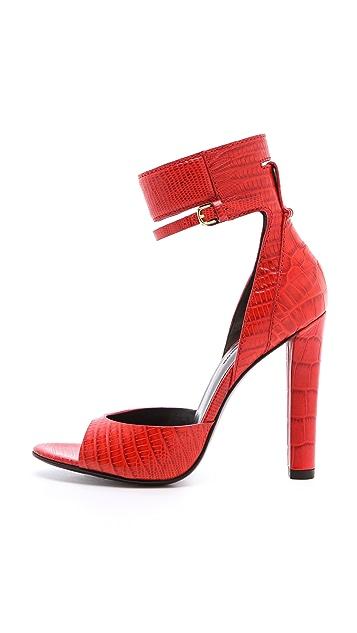 Alexander Wang Aminata Ankle Cuff Sandals