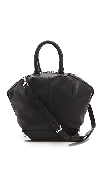 Alexander Wang Small Emile Satchel with Biker Handles