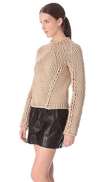Alexander Wang Seamless Hand Knit Pullover