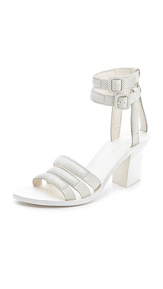 Alexander Wang Livia Mid Heel Sandals