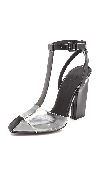 Alexander Wang Agata T-Strap Sandals