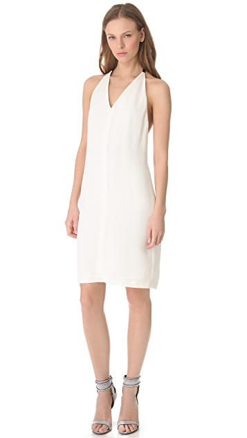 Alexander Wang Leather Strap T Back Dress