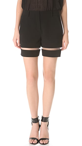 Alexander Wang Fishline Boy Shorts