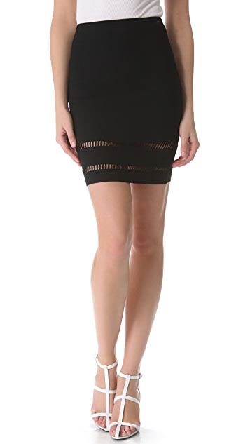Alexander Wang Suspension Pencil Skirt