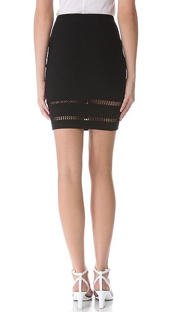 Alexander Wang Suspension Pencil Skirt