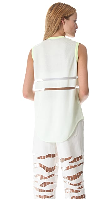 Alexander Wang Glow Engineered Zebra Tank
