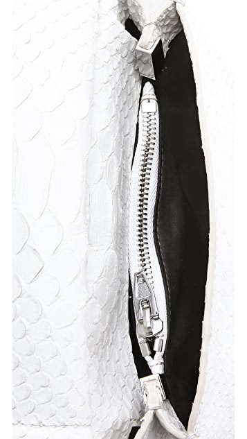 Alexander Wang Marion Python Embossed Bag