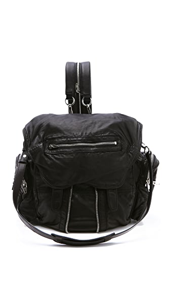 Alexander Wang Marti Backpack In Black