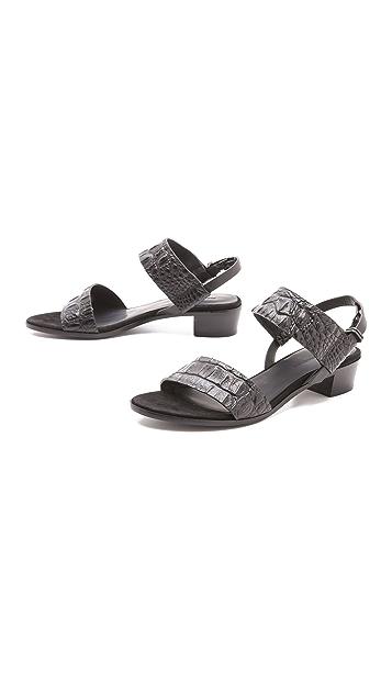 Alexander Wang Chiara Low Heel Sandals