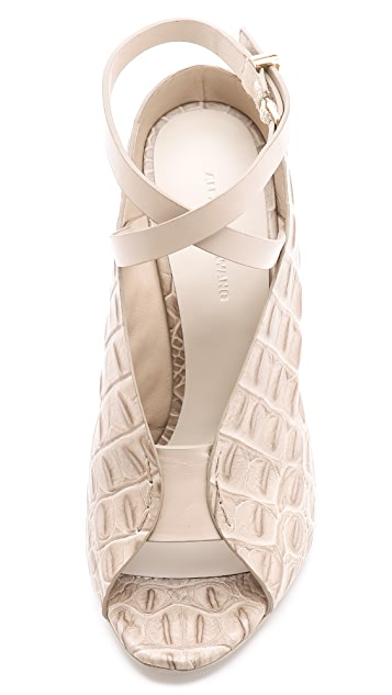 Alexander Wang Clara Ankle Strap Sandals