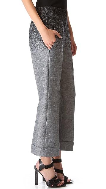 Alexander Wang Slim Cropped Trousers