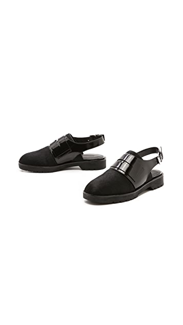 Alexander Wang Mina Haircalf Oxfords