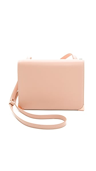 Alexander Wang Prisma Skeletal Double Envelope Clutch