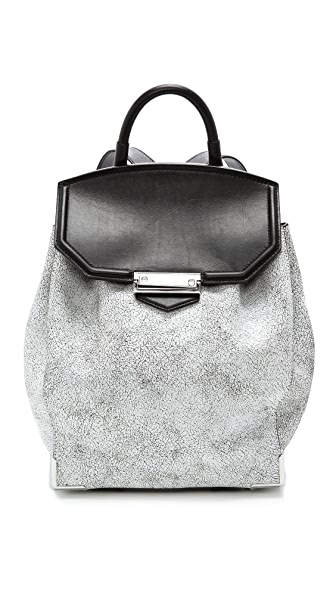 Alexander Wang Prisma Cracked Skeletal Backpack