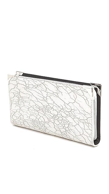 Alexander Wang Prisma Skeletal Compact Wallet