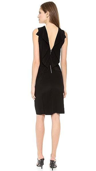 Alexander Wang Open Folded Back Slim Dress
