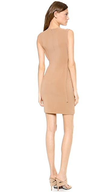 Alexander Wang Exposed Dart Sheath Dress