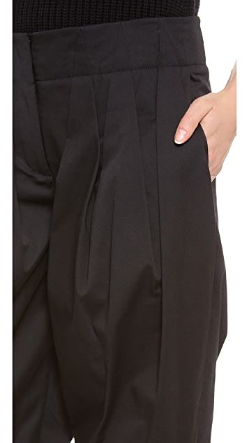 Alexander Wang Pleated Wide Cut Trousers