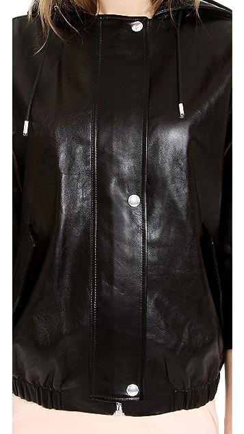 Alexander Wang Leather Parka
