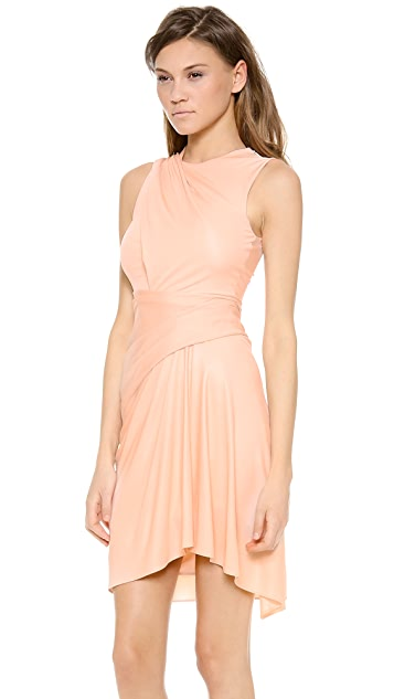 Alexander Wang Sleeveless Draped Dress