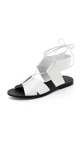 Alexander Wang Marlene Flat Sandals