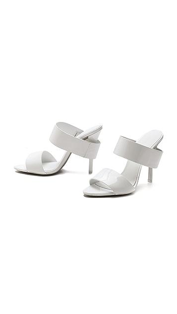 Alexander Wang Masha Two Band Sandals