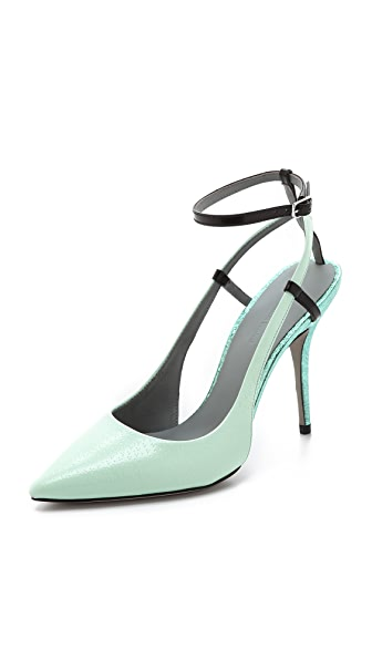 Alexander Wang Jodie Ankle Strap Pumps