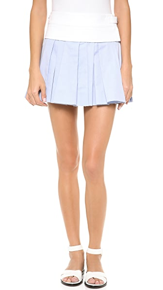 Alexander Wang Irregular Pleated Skirt
