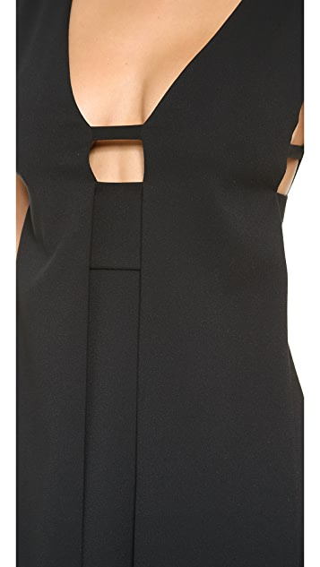 Alexander Wang Sleeveless Box Pleat Dress