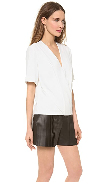 Alexander Wang Low V Neck Top