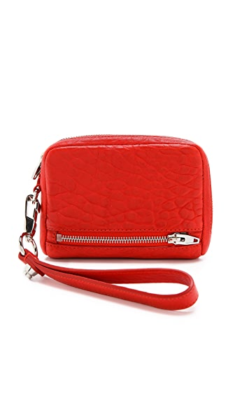 Alexander Wang Fumo Large Zip Wallet