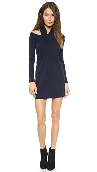 Alexander Wang Long Sleeve Shoulderless Dress